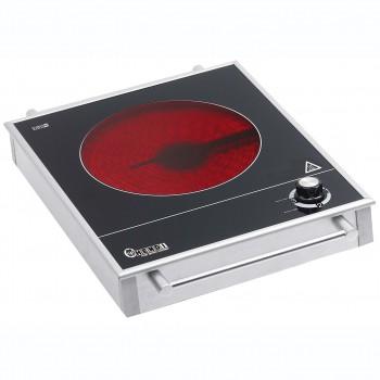 Плита стеклокерамика 1 конф. HENDI 239353